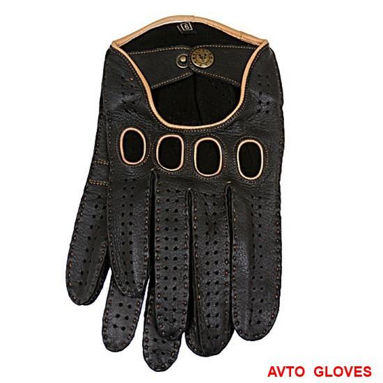 Какими будут черные перчатки в новом сезоне