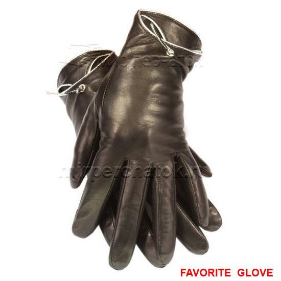 классические кожаные перчатки из кожи