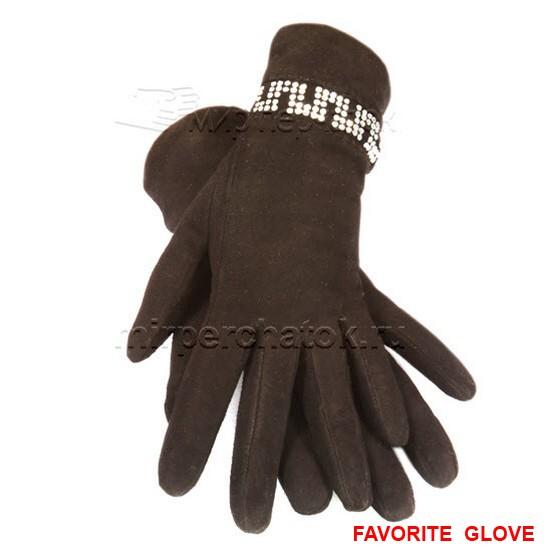 элегантные замшевые перчатки