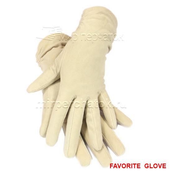 элегантные белые кожаные перчатки